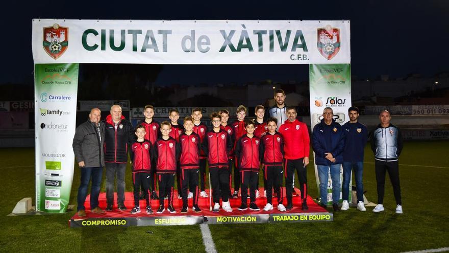 El Alevín A del Ciutat de Xàtiva termina la temporada como campeón