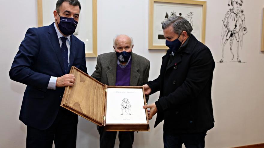 Kafka, homenaje al ilustrador Manuel Ayaso