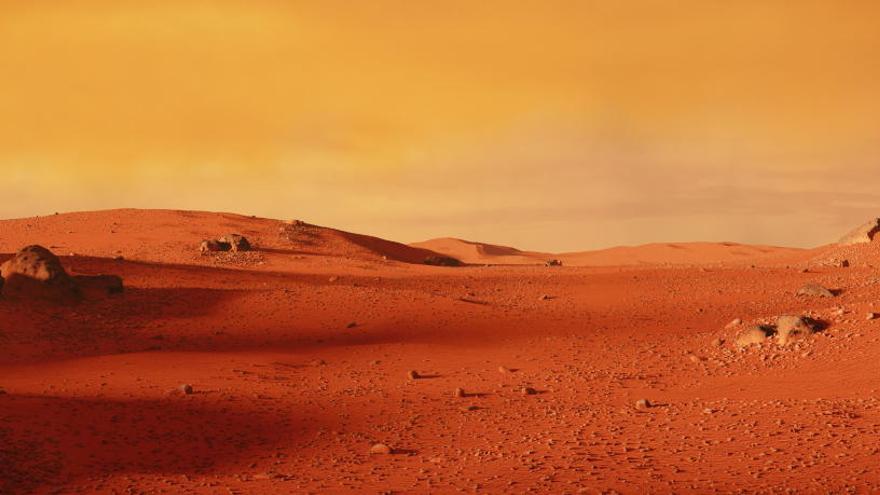 El Curiosity descubre una pista de vida pasada en Marte