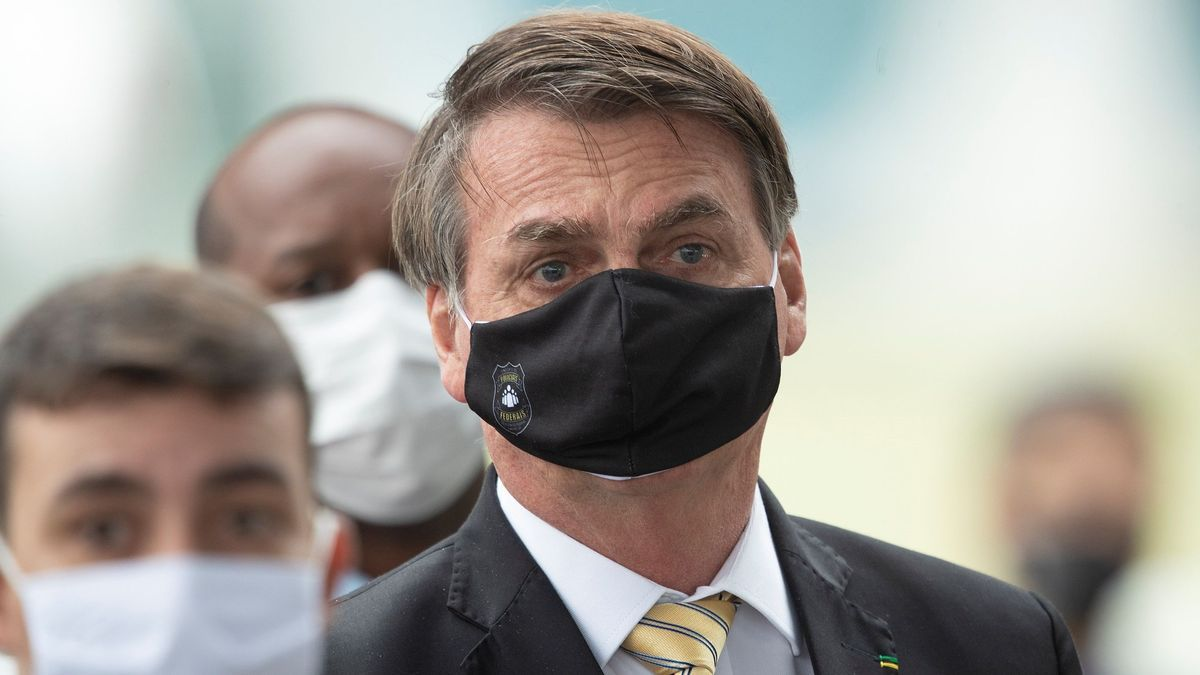 El presidente de Brasil, Jair Bosonaro.