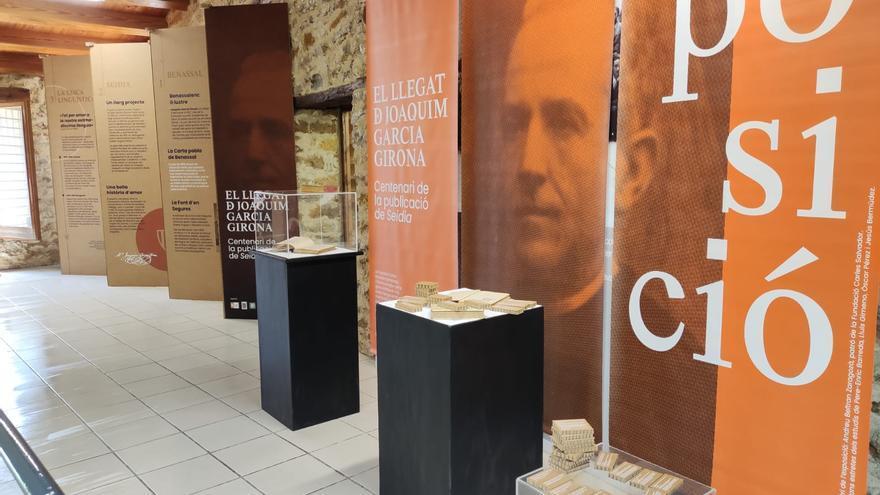 Benassal conserva el legado de Joaquim Garcia Girona con una exposición