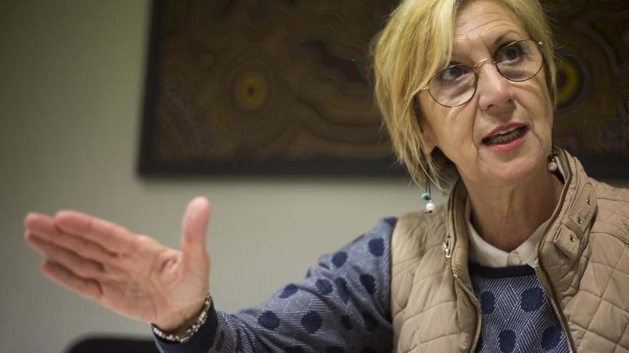 El error garrafal de Rosa Díez sobre la manifestación en favor de la unidad de España