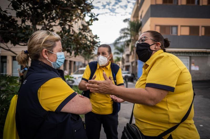 Huelga en Correos en la zona sur de Tenerife