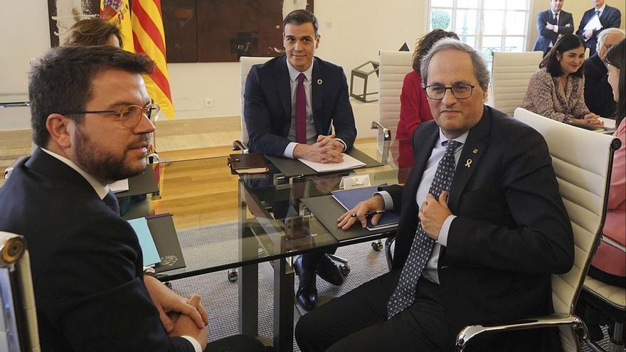 La fecha de la mesa de diálogo con Cataluña se perfila para el 16 o el 17