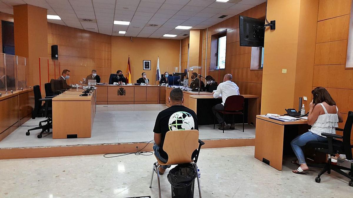 Imagen del juicio por la agresión a José Enrique en La Piterita. | | PEDRO FUMERO