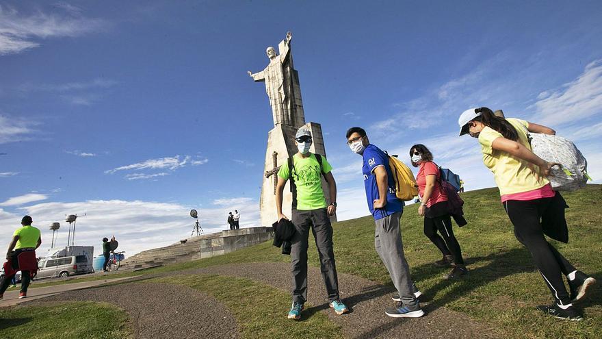 """El Naranco será """"un paraíso para el turista"""" con 82 kilómetros de sendas"""