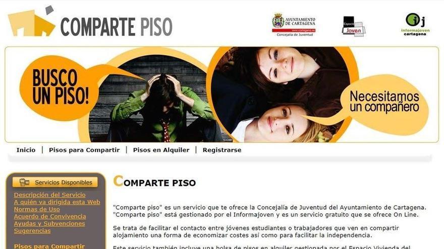13.000 personas usan ya la app 'Comparte Piso' para encontrar alojamiento en Cartagena