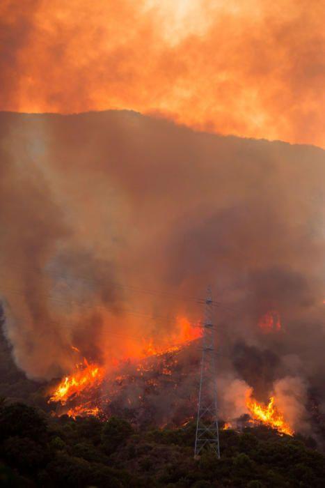 Desalojadas unas 50 personas por el incendio de ...