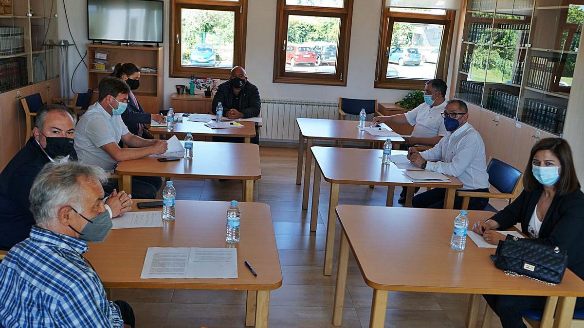 Reunión del Consorcio As Mariñas celebrada el pasado 4 de junio. |   // LA OPINIÓN