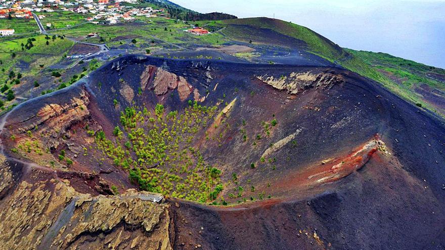 La erupción que sepultó la  Fuente Santa cumple 343 años