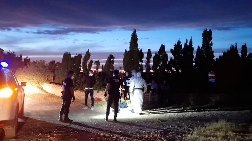 Los migrantes llegados a Formentera utilizaron un 'taxi patera'