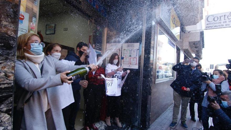Lotería y Gordo de Navidad en Córdoba: Lluvia de premios pero no de millones
