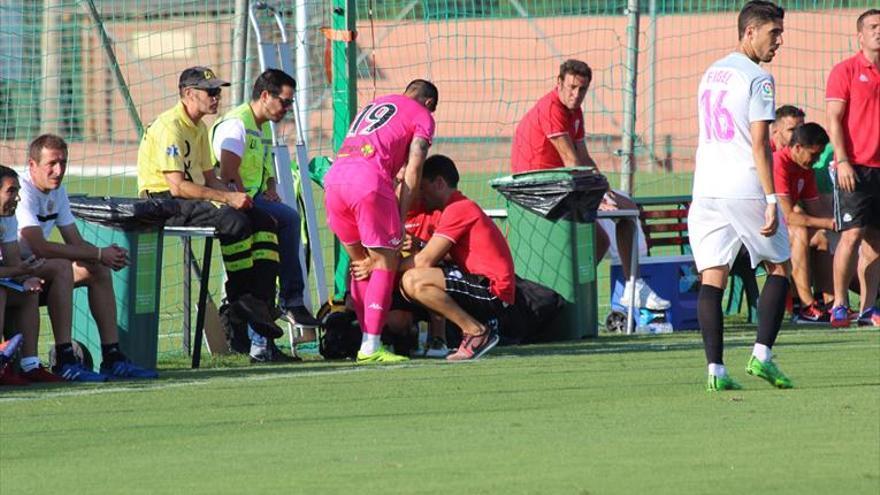 Jaime Romero, el primero en caer lesionado este verano