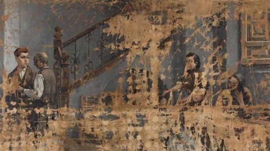 El Prado retira una pintura de 'Invitadas' al descubrir que fue pintada por un hombre