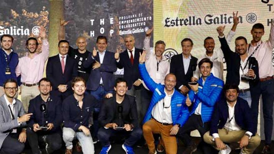 Las seis 'startups' ganadoras de la segunda edición de The Hop ponen en marcha un proyecto piloto con Hijos de Rivera