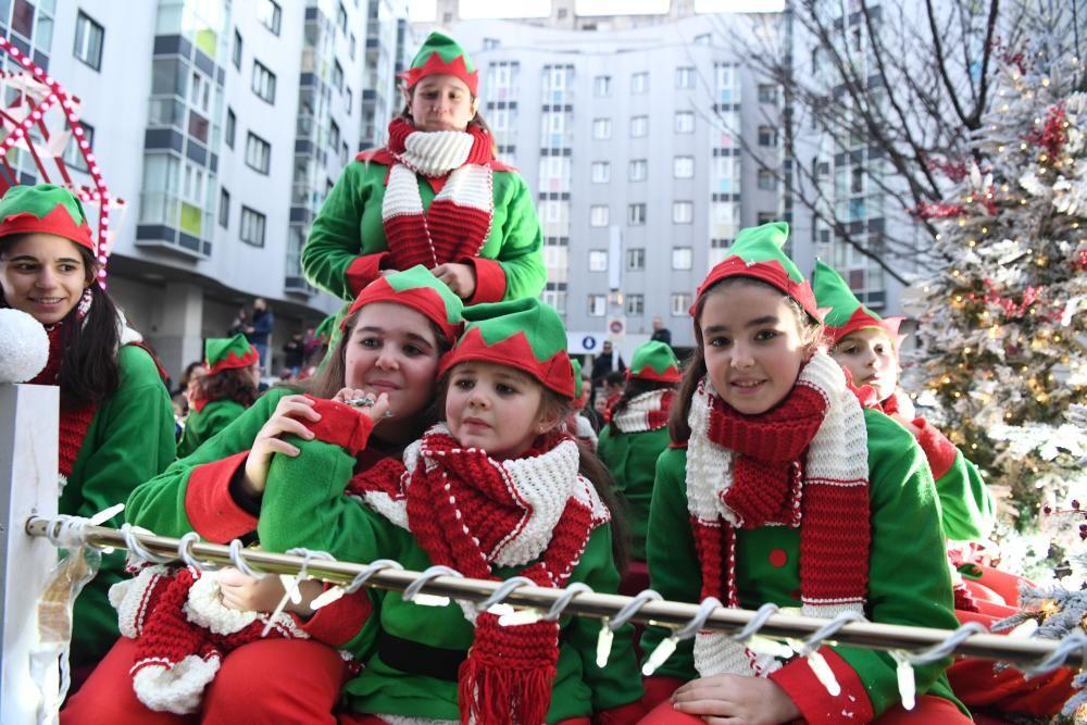 Cabalgata de los Reyes Magos en A Coruña en 2020