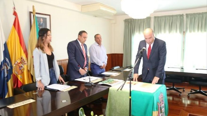 Dámaso Arencibia afronta su cuarto mandato en Valleseco