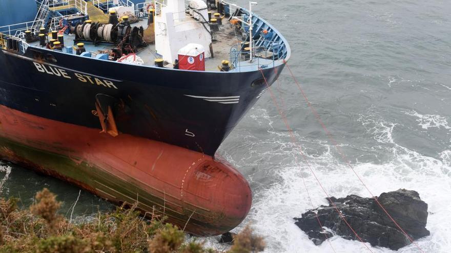 El 'Blue Star' será desguazado por el alto coste de la reparación
