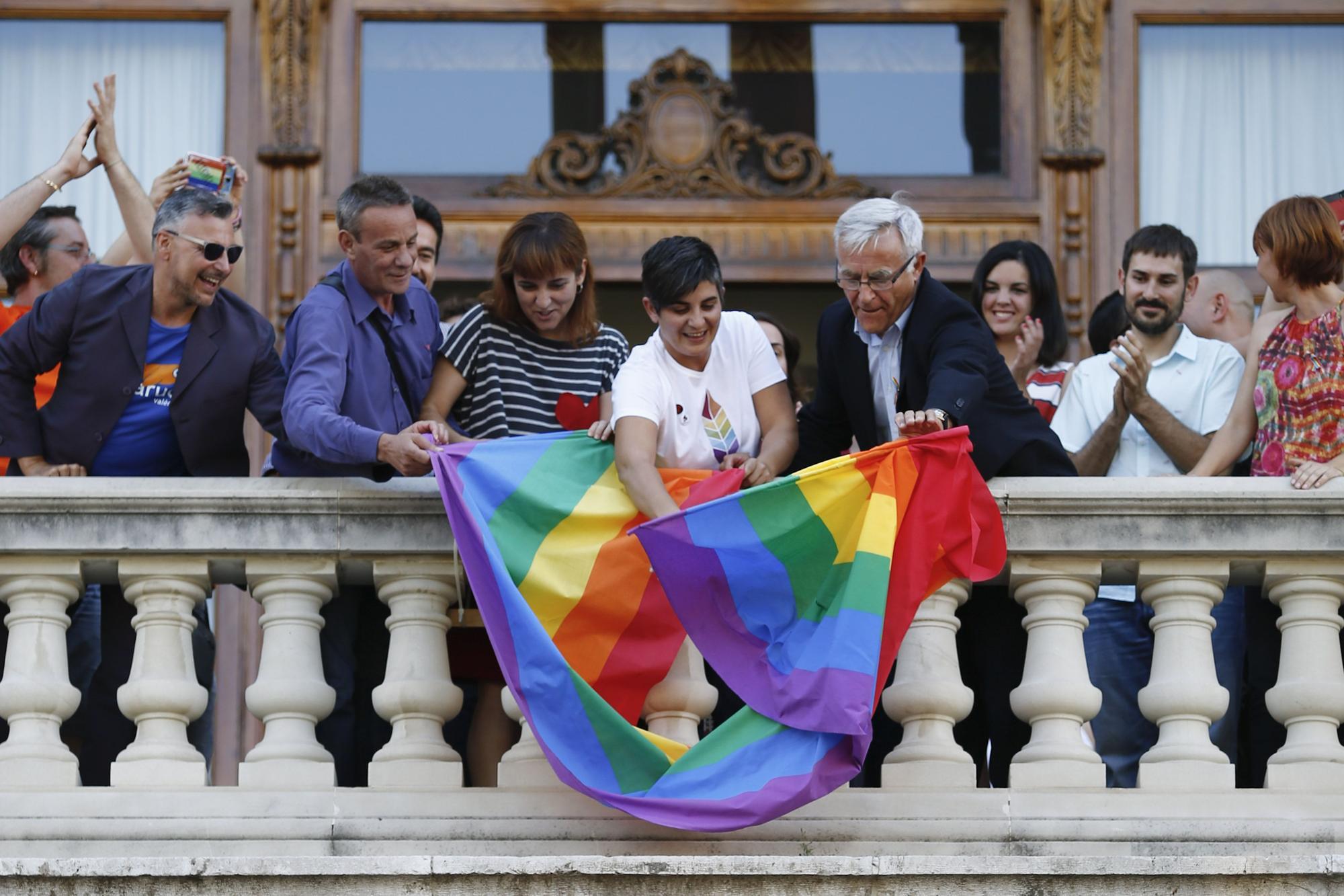 Fotografía de 2015 del Orgull LGBTI de València
