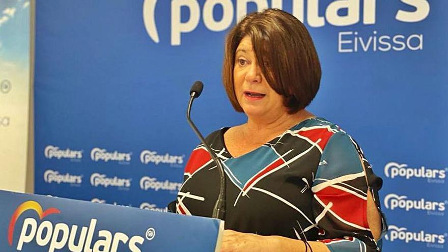 Lourdes Cardona releva a Virginia Marí al frente del PP de Vila