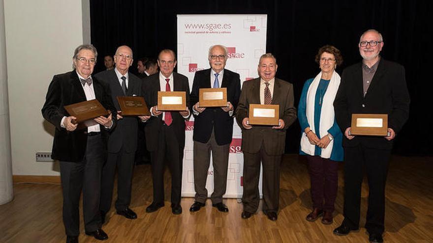 La SGAE rinde homenaje a la editorial musical valenciana Piles