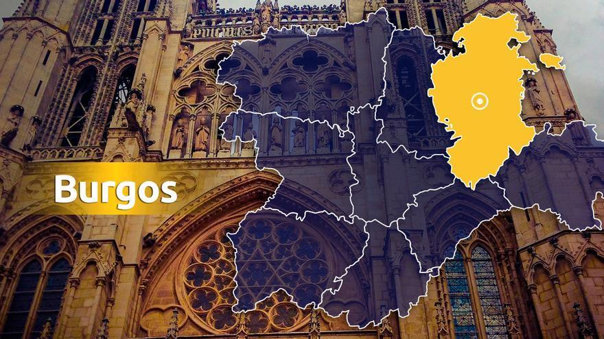 Un turismo colisiona con un tren de mercancías en Quintana de los Prados (Burgos)