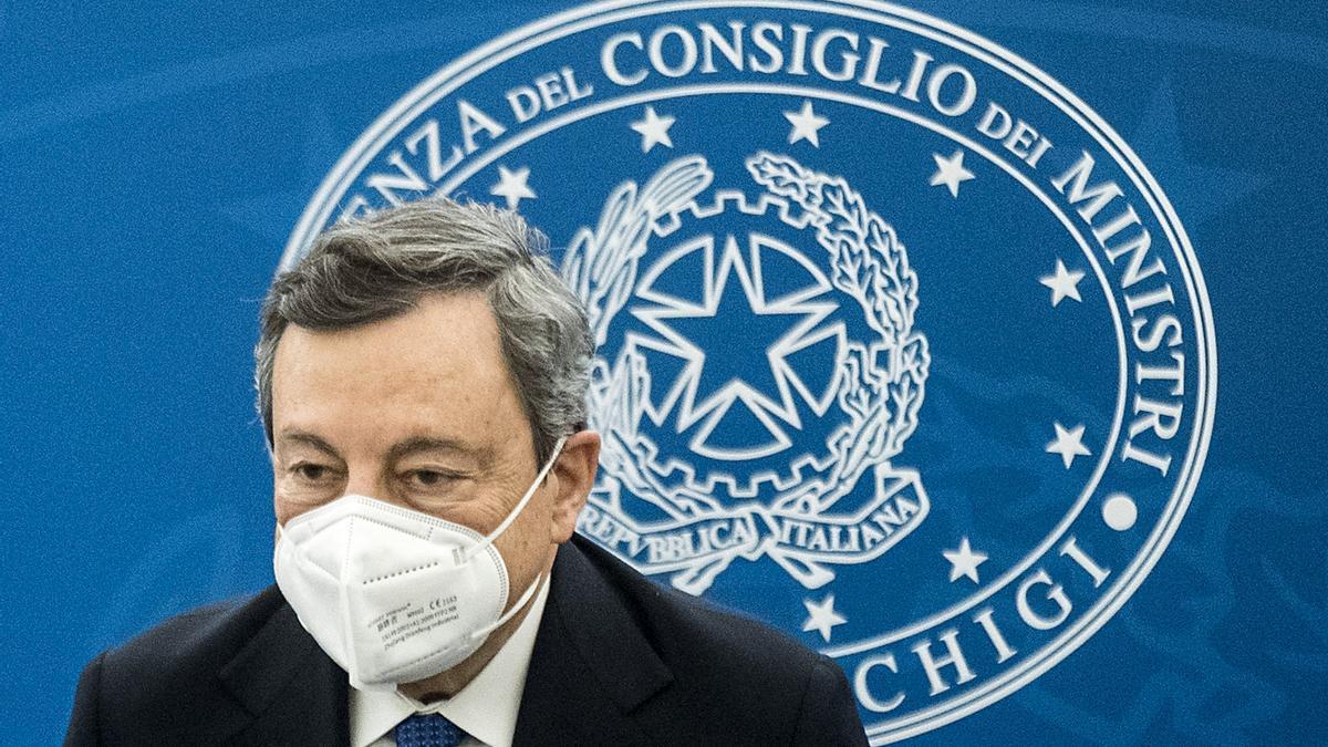Una imagen de Mario Draghi.