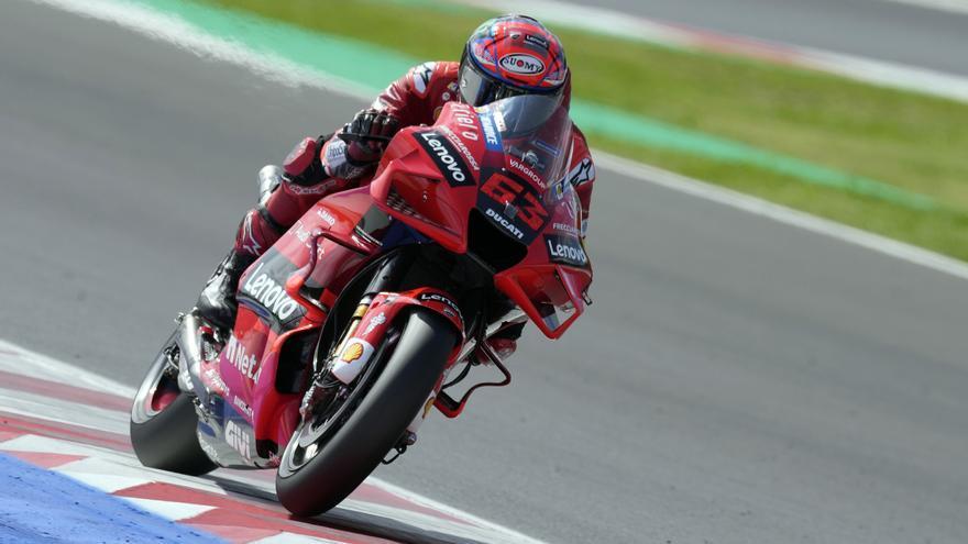 Francesco Bagnaia, ganador de MotoGP 2021 en el circuito de Misano