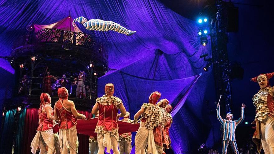 Evoluciona favorablemente el acróbata accidentado en el estreno del Circo del Sol