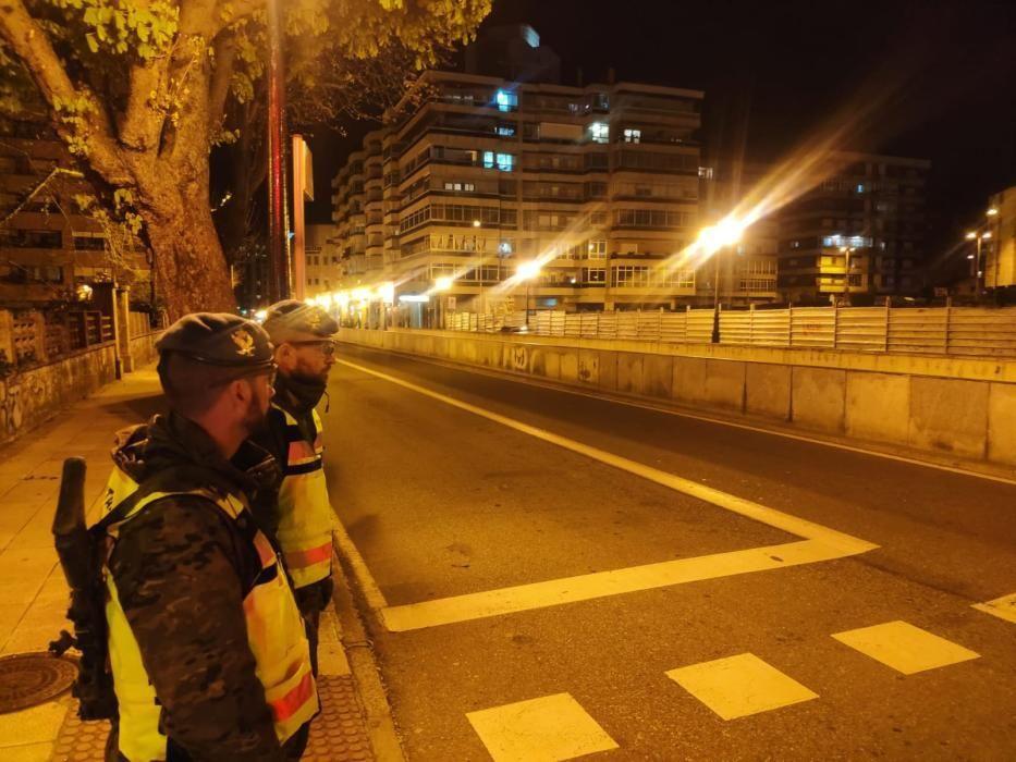 Coronavirus en Vigo: Llegan los primeros soldados para asegurar el estado de alarma