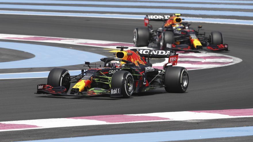 Verstappen defiende su liderato en la primera carrera en casa de Red Bull