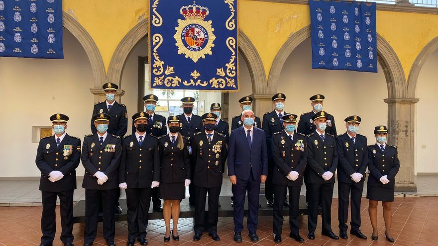 Pestana preside la jura de nuevos inspectores de la Policía Nacional