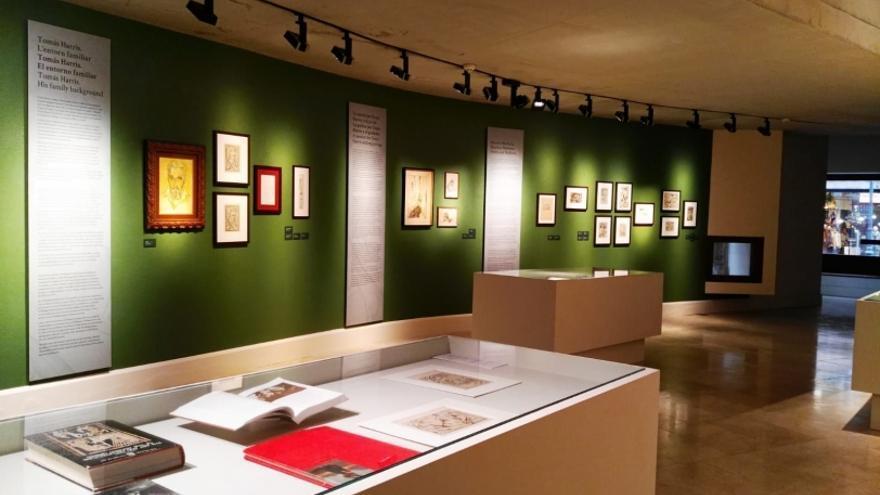 Visita guiada al voltant de l'exposició Tomás Harris. Gravador a Mallorca (1935-1964)