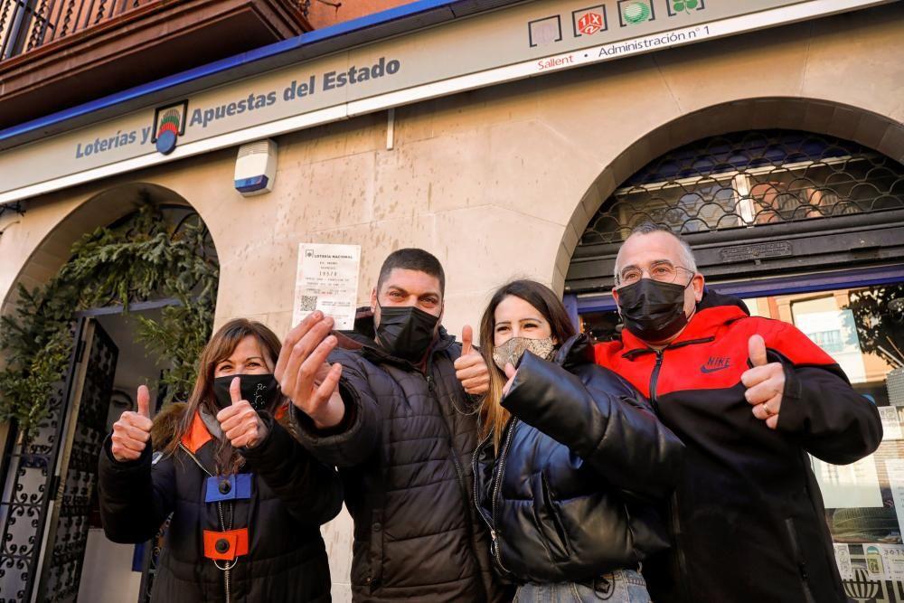 Primer premio en Sallent (Barcelona)