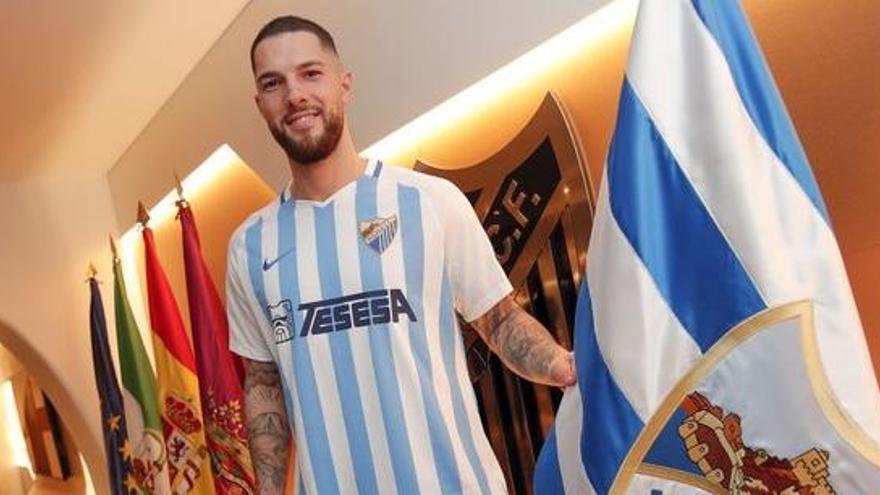 Tete Morente, nueva pieza del Málaga CF