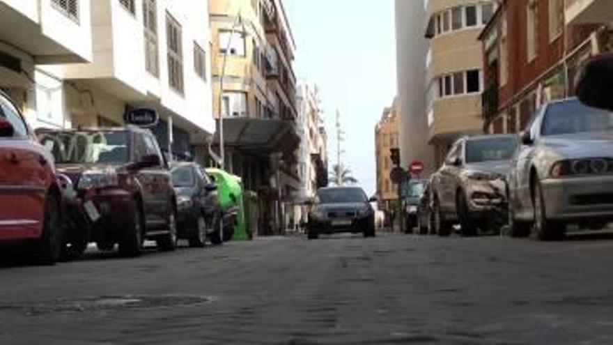 Torrevieja suprimirá los adoquines de la calle Clemente Gosálvez