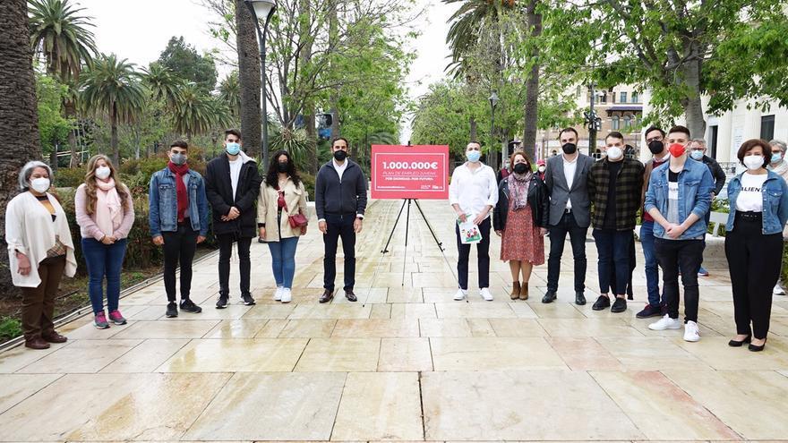 El PSOE pide asignar un millón de euros al plan de empleo para jóvenes