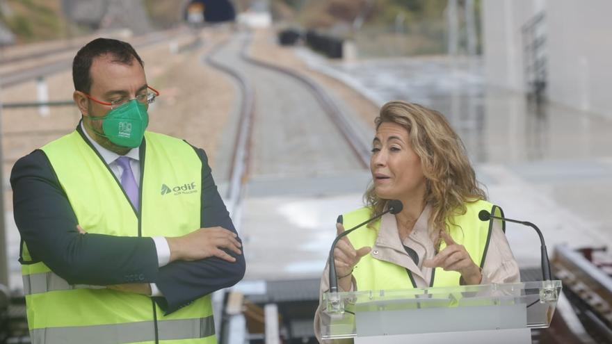 EN DIRECTO: La ministra de Trasportes y el presidente del Principado comparecen tras el primer viaje de pruebas por la Variante