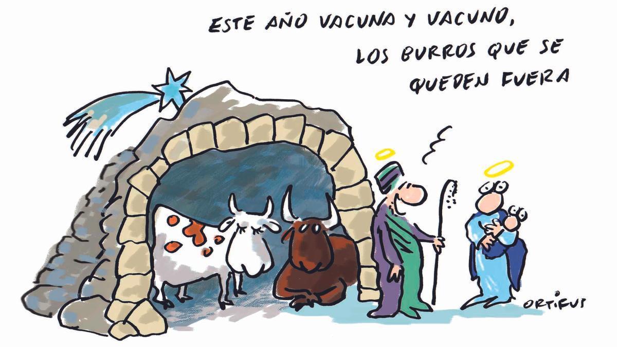 Este año vacuna y vacuno, los burros que se queden fuera