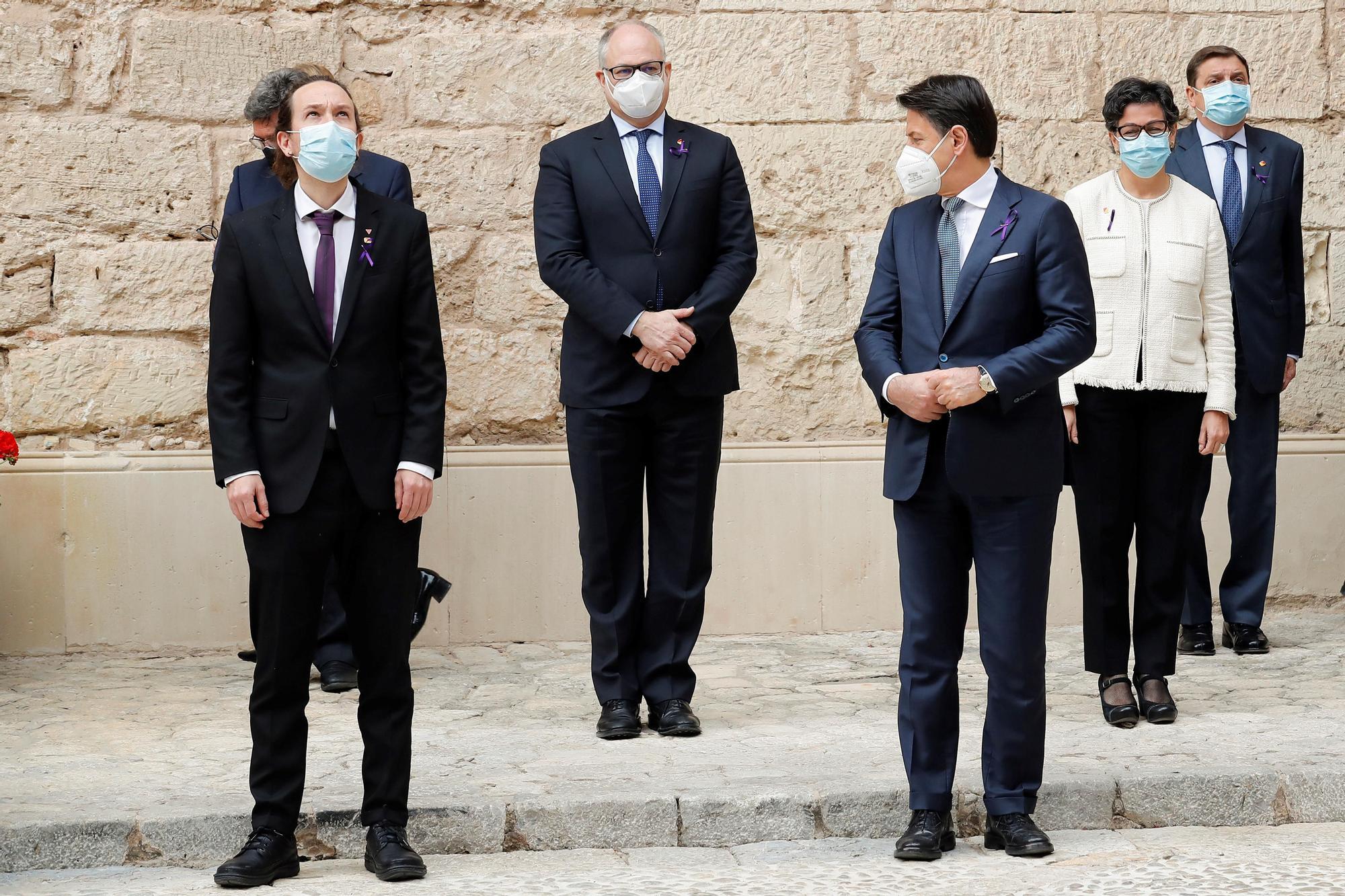 Minuto de silencio en la cumbre entre España e Italia  por las víctimas de la violencia de género