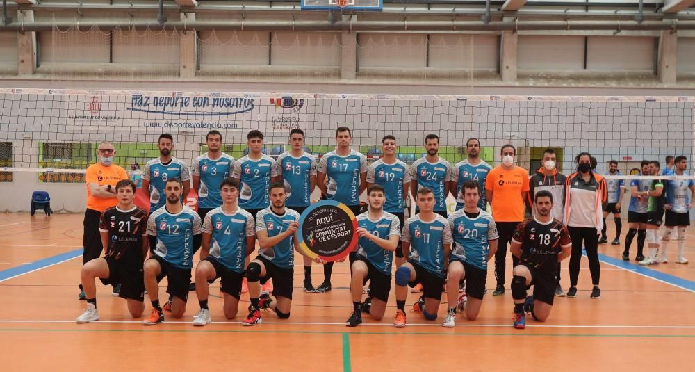 Final Superliga 2 Léleman Valencia - San Sadurniño