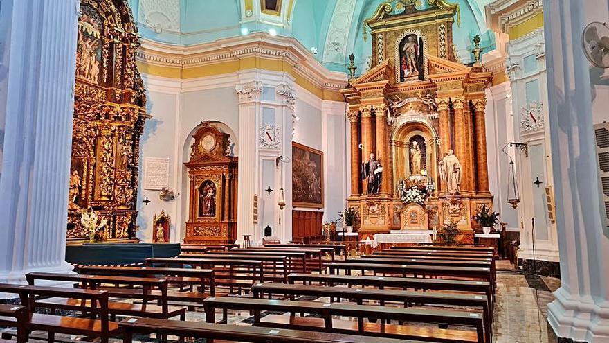 Finalizadas las obras de mejora de la Iglesia de la Virgen de la Oliva