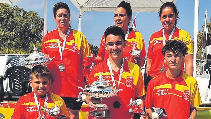 Las tripletas de Baleares quedan fuera del podio en el Nacional femenino y juvenil de Palma