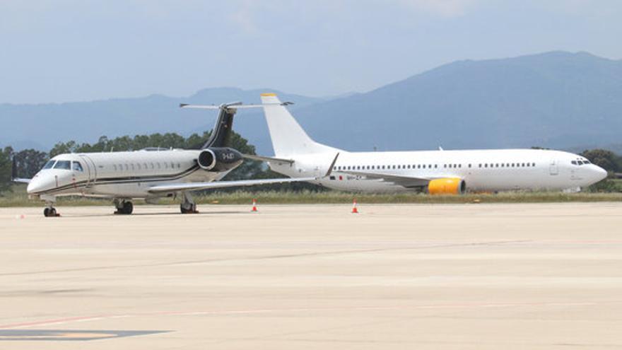 L'aeroport de Girona recupera l'activitat comercial aquest dissabte