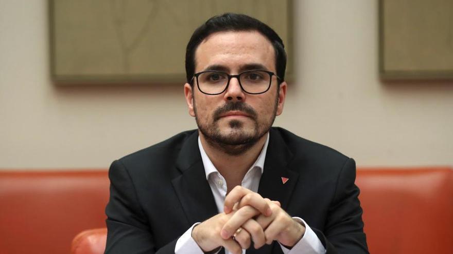 """Garzón defiende """"acuerdos con todos"""" para los PGE"""