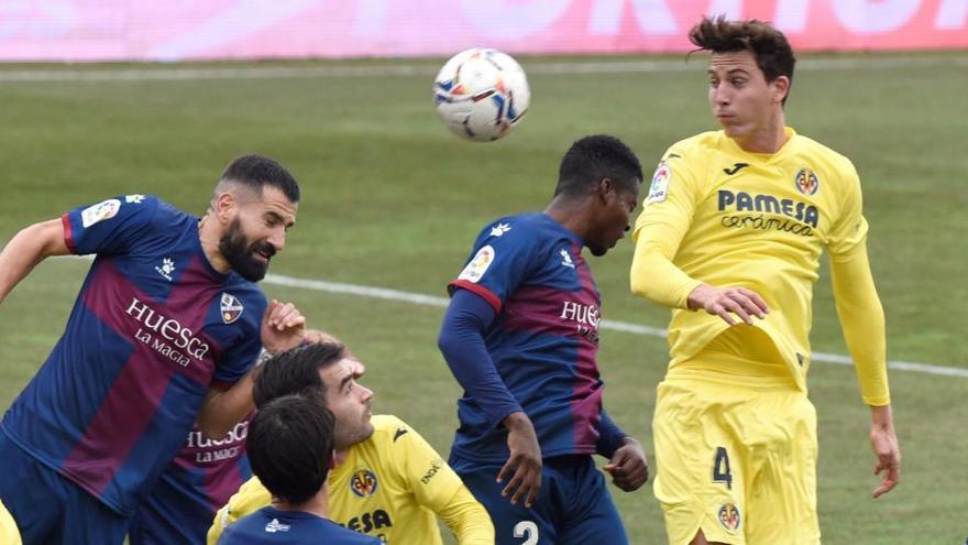 Empate a nada que de poco sirve a Huesca y Villarreal