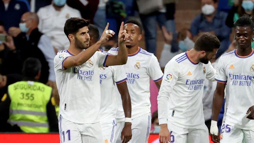 Asensio brilla en el festín del Real Madrid ante el Mallorca