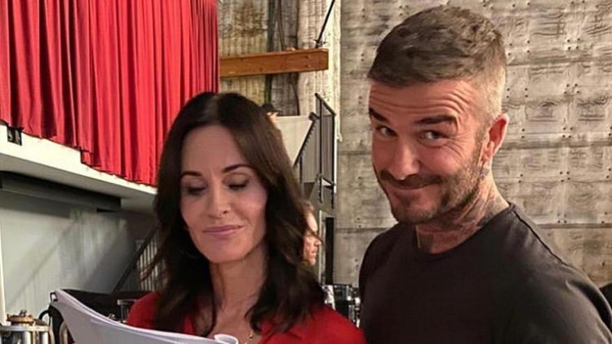 David Beckham, fichaje estrella de 'Modern Family', se lleva a sus hijos al rodaje
