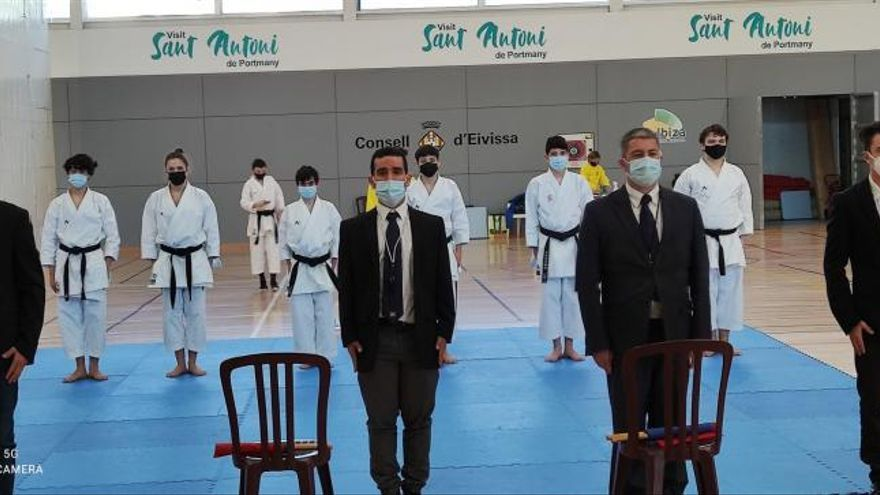 Vuelve la Liga Escolar de katas a Sa Pedrera
