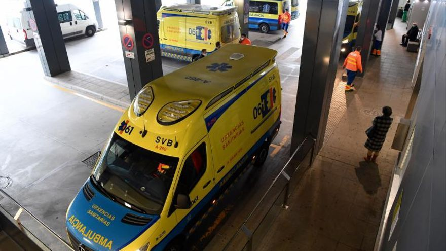 Las ambulancias gallegas en tiempos de pandemia